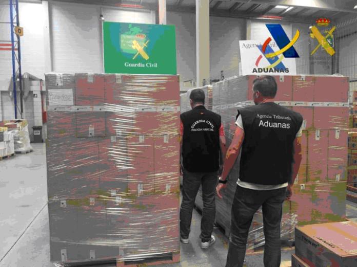 Nueve detenidos en la operación 'Turia' contra el contrabando de tabaco